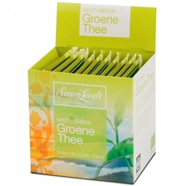 Ceai verde ecologic, 10 plicuri individuale, Simon Lévelt