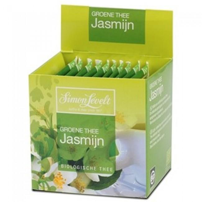 Ceai verde cu iasomie eco, 10 pliculete individuale, Simon Lévelt