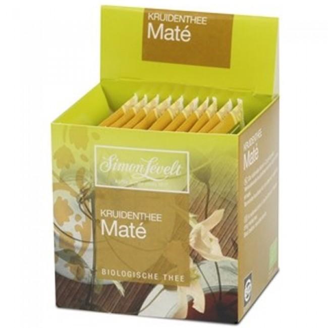 Ceai mate ecologic, 10 plicuri individuale, Simon Lévelt