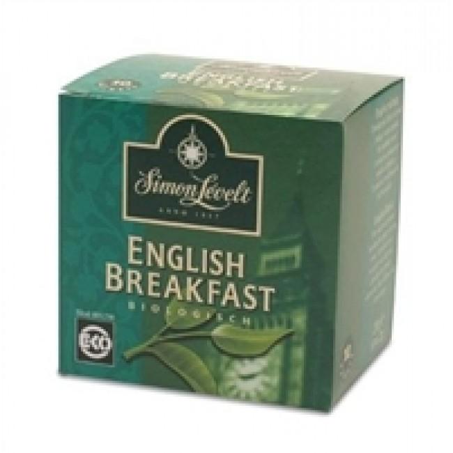 Ceai bio englezesc, pentru mic dejun, 10 doze ambalate individual