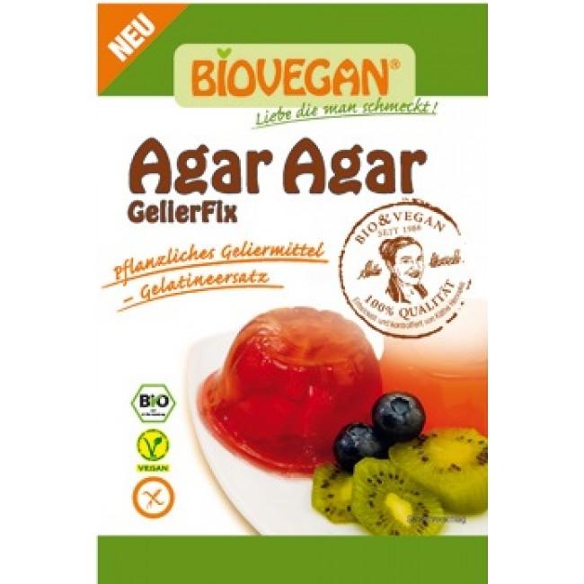 Gelatina AGAR AGAR ecologica fara gluten vegan Biovegan