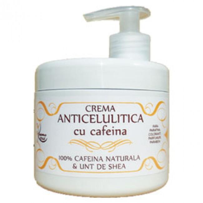 Crema anticelulitica cu cafeina