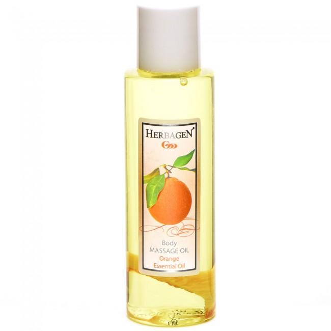 Ulei de masaj cu ulei esential de portocala