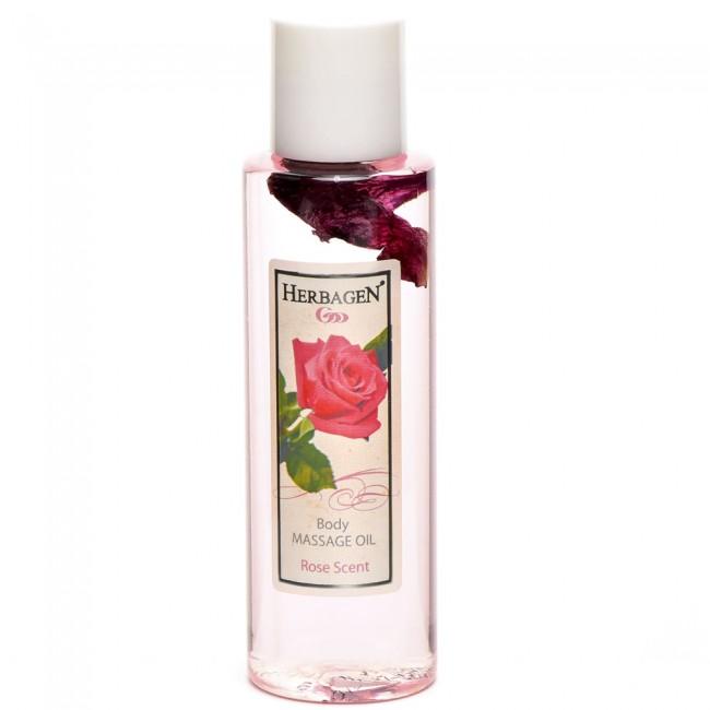 Ulei de masaj cu ulei esential de trandafir