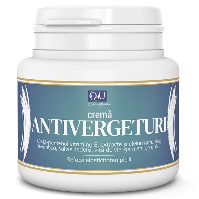 Crema antivergeturi Q4U cu D-Pantenol si Vitamina E