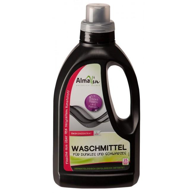 Detergent lichid eco de rufe negre si inchise la culoare