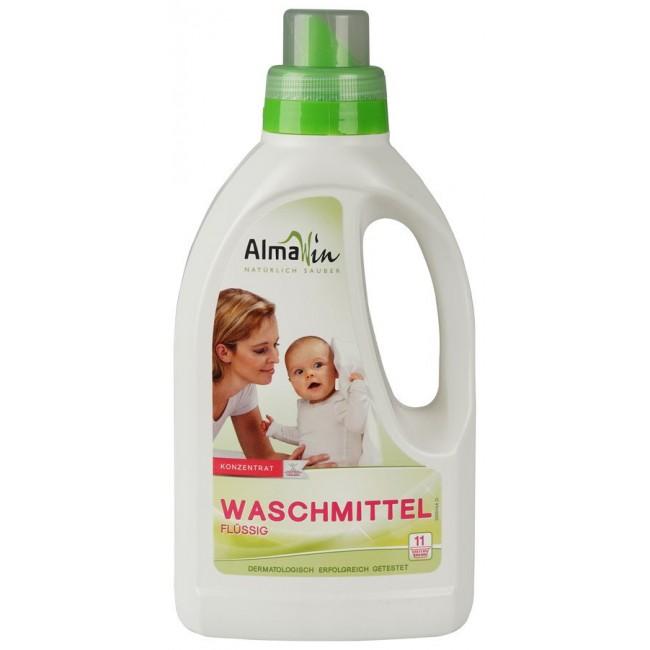 Detergent lichid  de rufe albe si colorate eco