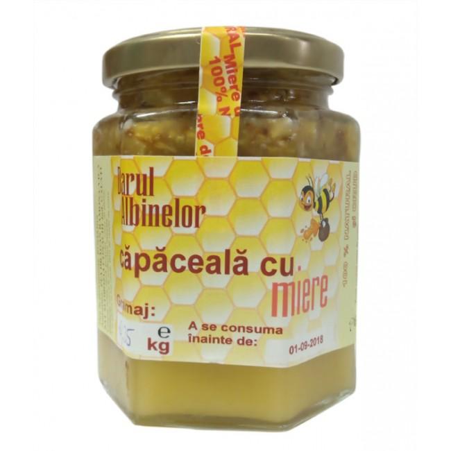 Capaceala cu miere si propolis - Darul Albinelor