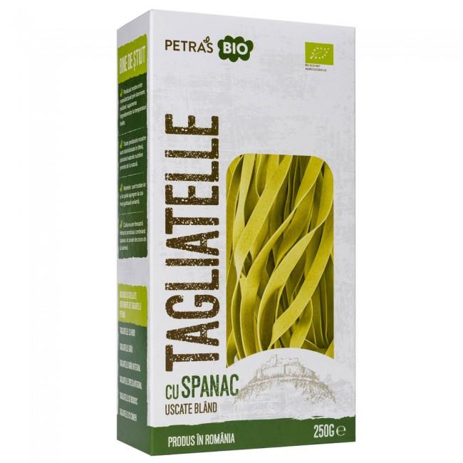 Paste artizanale Tagliatelle cu spanac ecologice