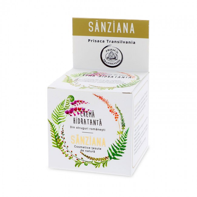 Crema hidratanta de fata Sanziana