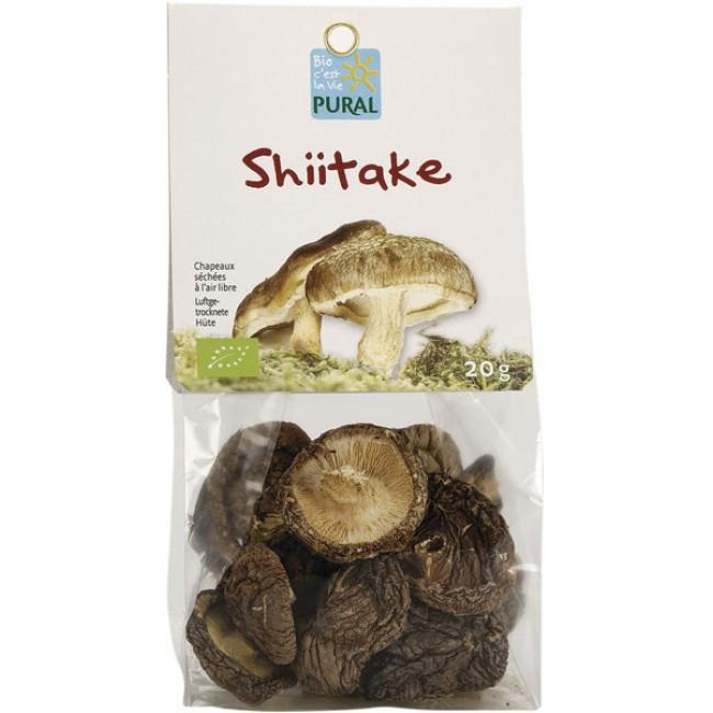 Ciuperci Shiitake uscate ecologice Pural