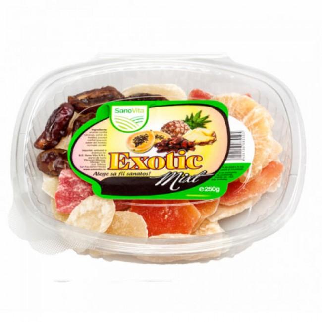 Fructe confiate Exotic mix