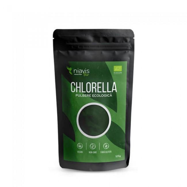 Chlorella pudra Organica 125g