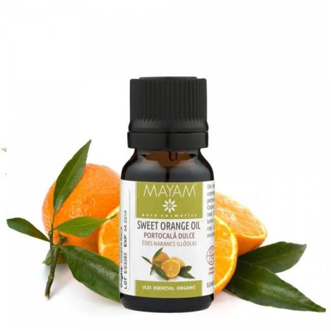 Ulei esential de portocala bio (citrus sinensis) 10ml