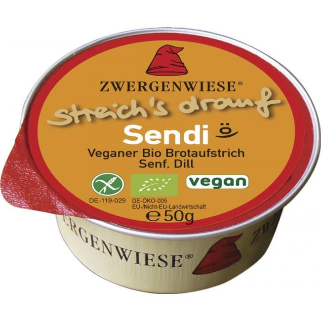 Zwergenwiese - Pasta tartinabila fara gluten vegana cu mustar si marar