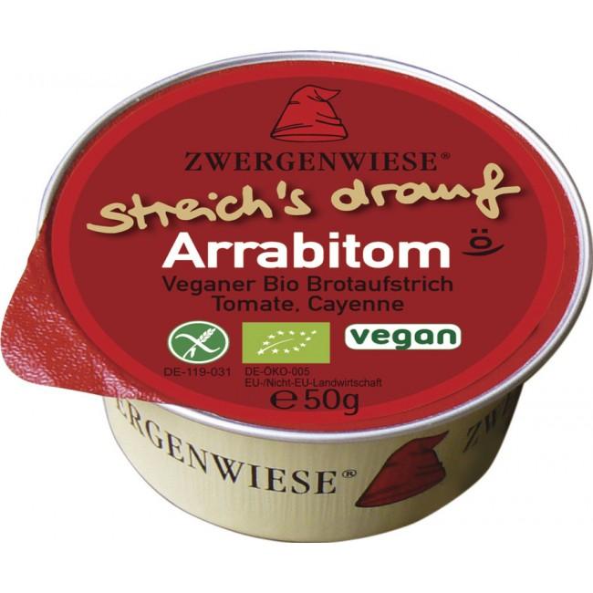 Zwergenwiese - Pasta tartinabila fara gluten vegana cu rosii si piper cayenne