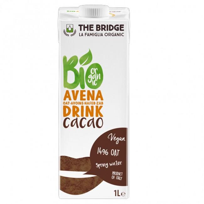 Lapte bio din ovaz cu cacao, 1L