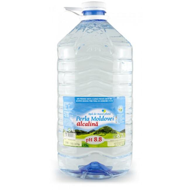 Apa alcalina naturala -  pH 8.8 Perla Moldovei, 6,2l
