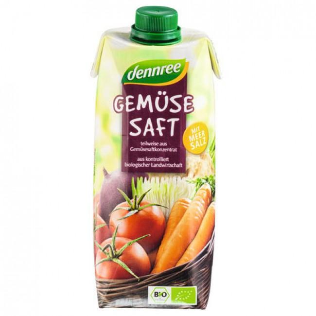 Suc de legume ecologic