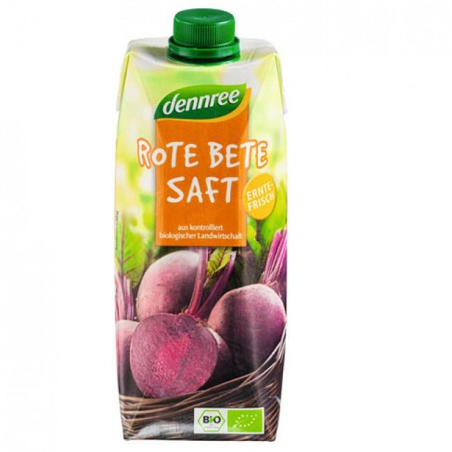 Suc de sfecla rosie ecologic
