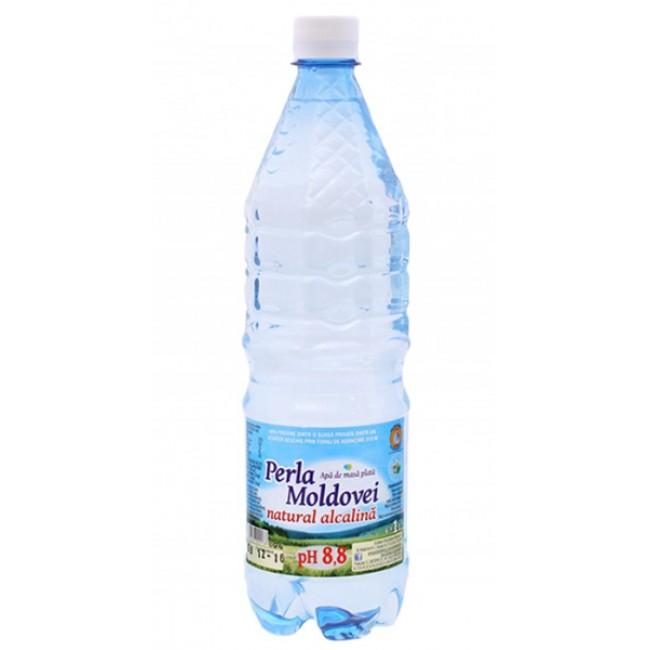 Apa plata naturala alcalina - Perla Moldovei, 1 litru