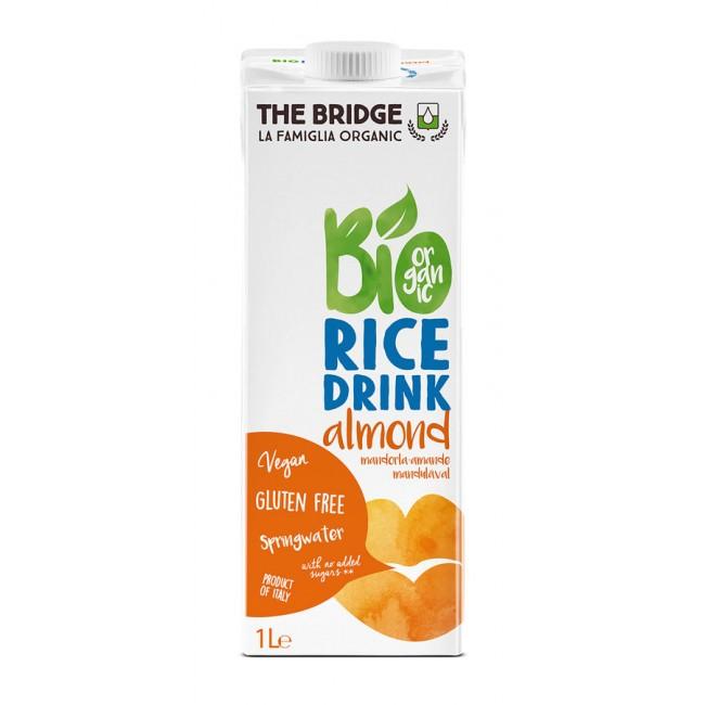 Bautura din orez cu migdale ecologica, 1L