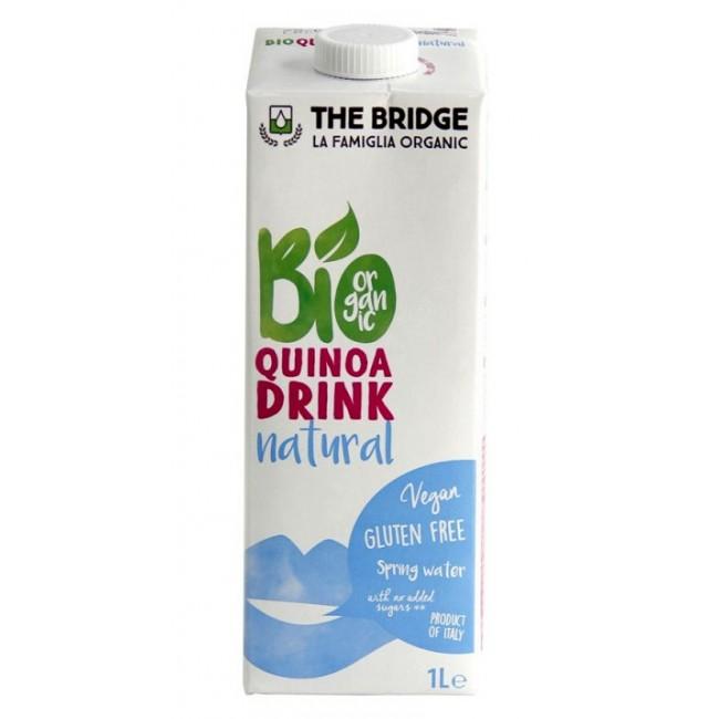 Lapte de quinoa ecologic, fara gluten 1L, The Bridge