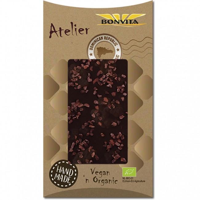 Bonvita - Ciocolata fara gluten amara, vegana