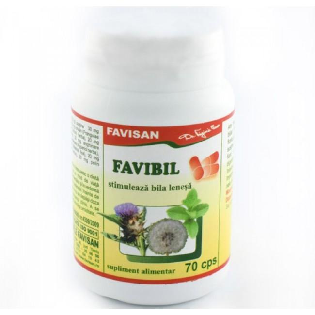 Favibil - stimuleaza bila lenesa - Favisan