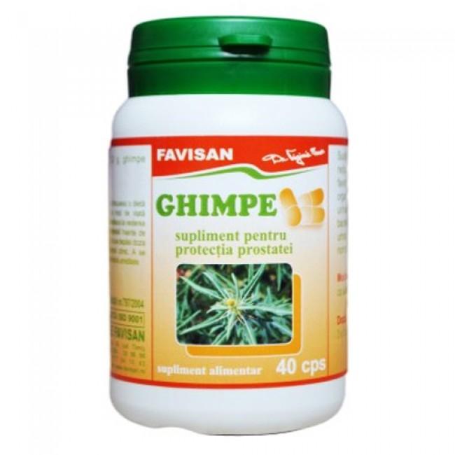Ghimpe - supliment pentru protectia prostatei, Favisan