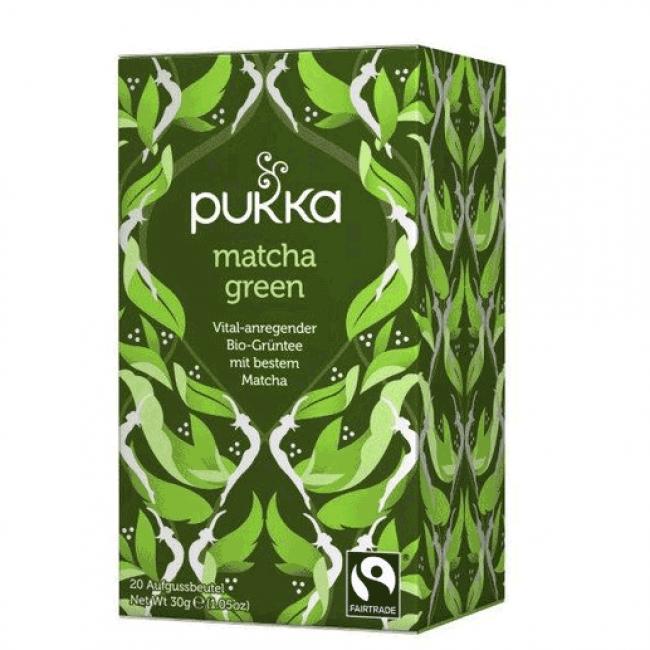 Ceai verde cu Matcha, ecologic, Pukka