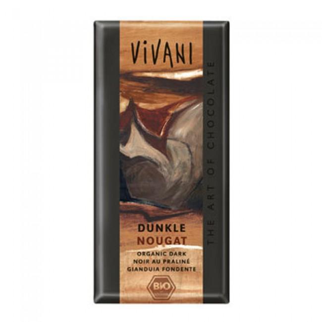 Ciocolata neagra Nougat VIVANI