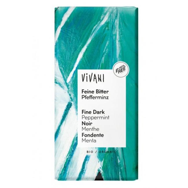 Ciocolata cu menta ecologica Vivani