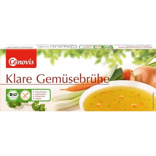 Cuburi organice pentru supa cu legume fara gluten 12 buc.