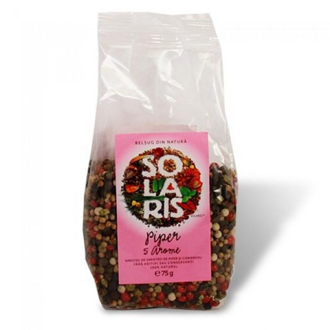 Piper boabe 5 arome - amestec de varietati de piper si coriandru
