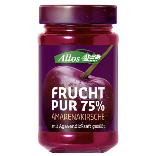 Fruct Pur 75% - Dulceata (piure de fructe) ecologica din cirese amarena, fara zahar