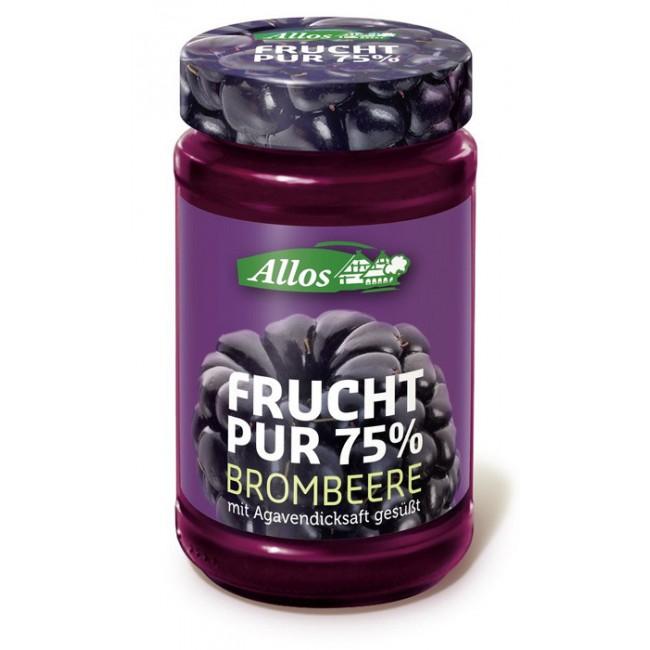 Fruct Pur 75% - Dulceata (piure de fructe) ecologica de mure, fara zahar