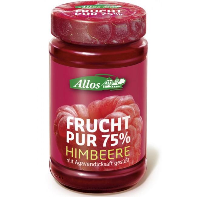 Fruct Pur 75% - Dulceata (piure de fructe) ecologica din zmeura, fara zahar