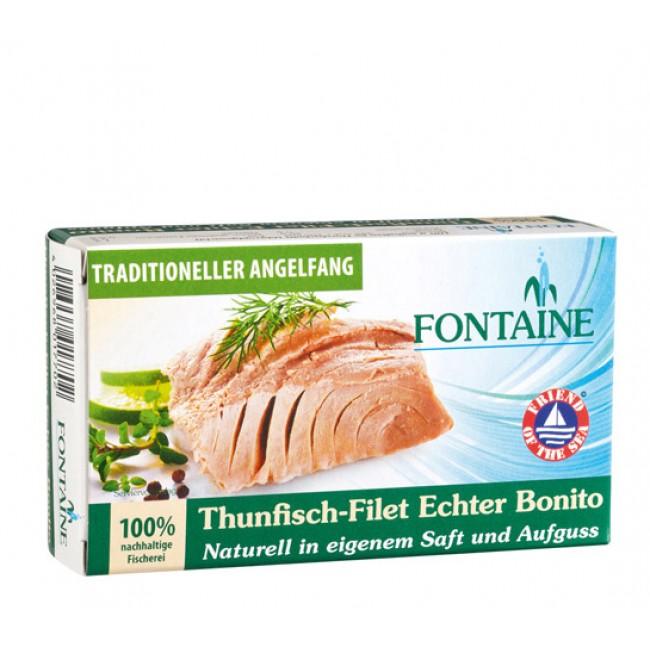File de ton Bonito  in suc propriu, Fontaine
