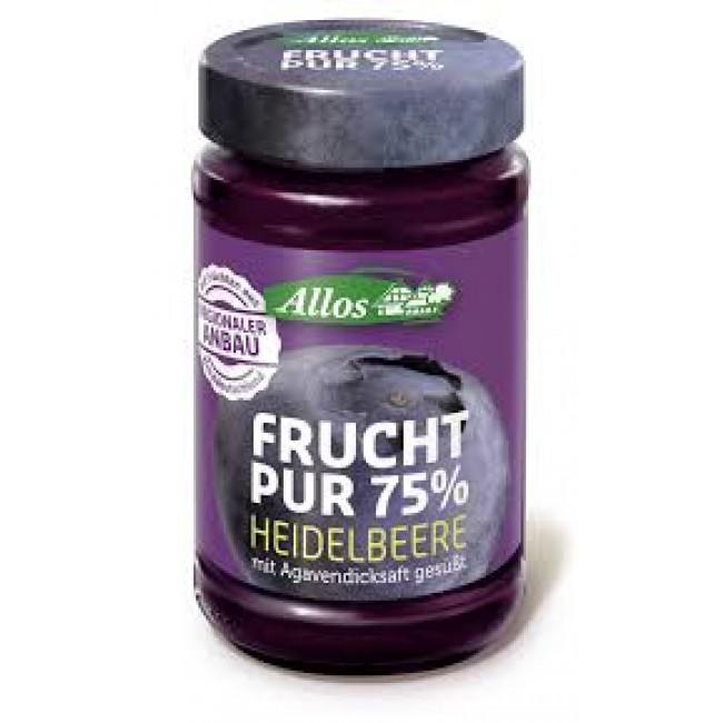 Fruct Pur 75% - Dulceata (piure de fructe) ecologica din afine fara zahar