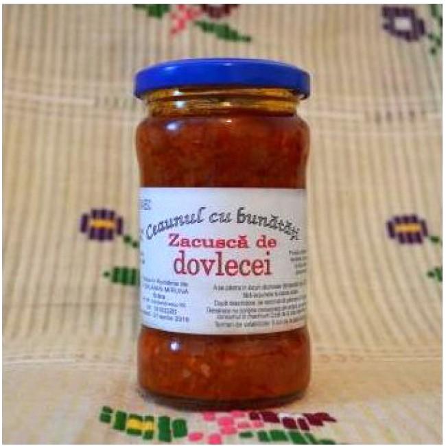 Zacusca de dovlecei - Ceaunul cu bunatati (slow food)