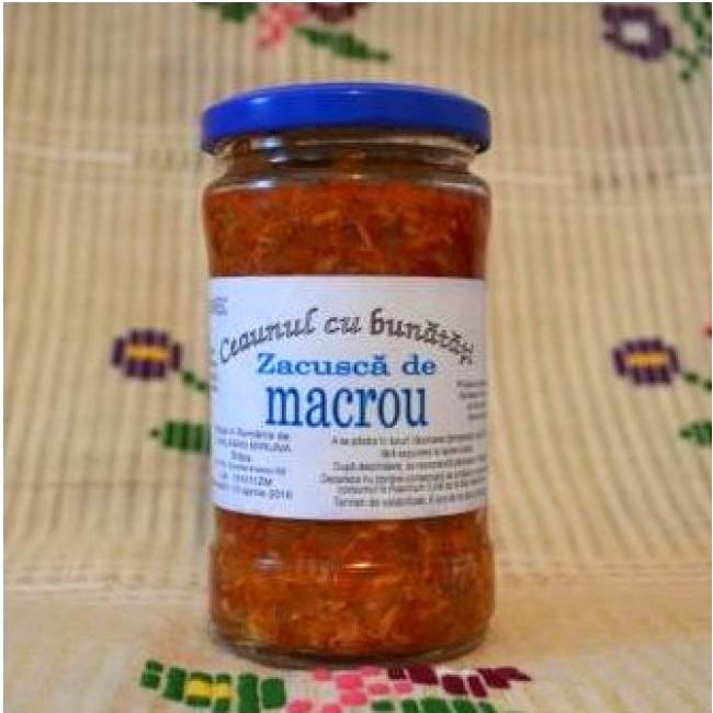 Zacusca cu macrou - Ceaunul cu bunatati (slow food)