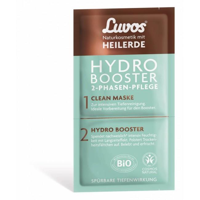 Masca de fata bio Hydro-Booster in 2 pasi: curatare si hidratare