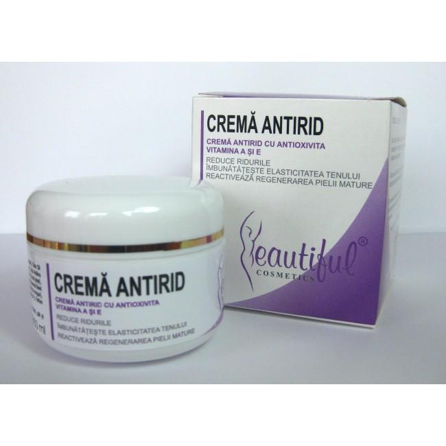 Crema antirid cu apa termala, antioxivita , vitamina A si vitamina E