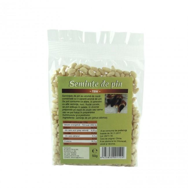 Seminte de pin RAW (crude) 100gr