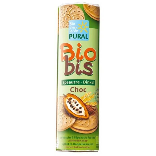 Biscuiti eco umpluti Bio-Bis cu alac (grau spelta), vegan