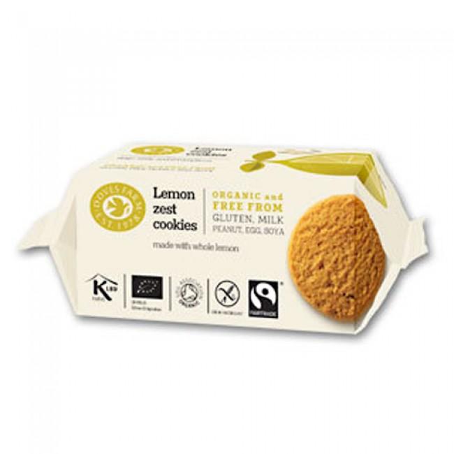 Biscuiti bio cu lamaie fara gluten