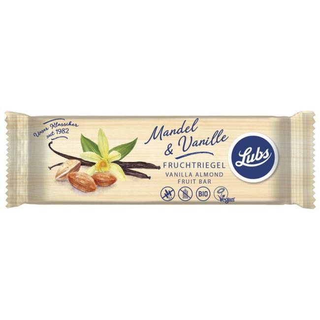 Baton ecologic din fructe cu migdale si vanilie fara gluten, Lubs