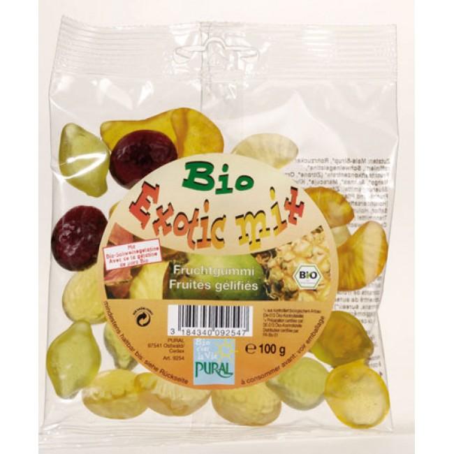 Jeleuri ecologice din fructe, exotic mix