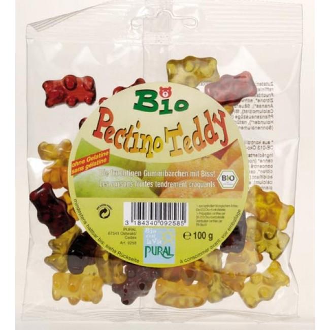Jeleuri ecologice de fructe  fara gelatina in forma de ursuleti